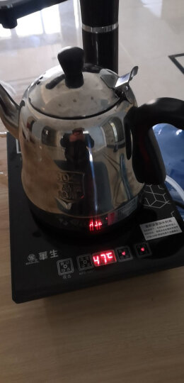 【京东4仓】华生(washon)304不锈钢自动上水电热水壶电茶炉电子茶盘水壶茶具D8-T 晒单图