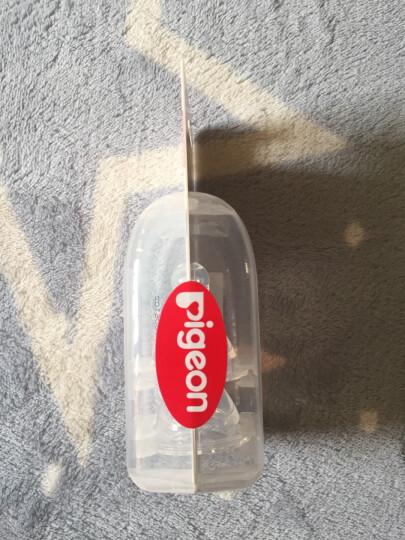 贝亲(Pigeon) 奶瓶 玻璃奶瓶 新生儿 标准口径玻璃奶瓶 婴儿奶瓶 200ml AA86 标准口径S码奶嘴 晒单图