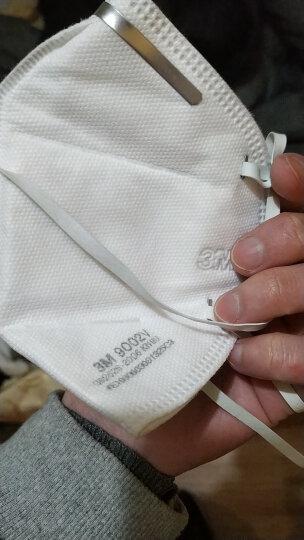3M 口罩 KN90 防雾霾 防pm2.5 防粉尘 有呼气阀 9002V 男女通用 3只/包 晒单图