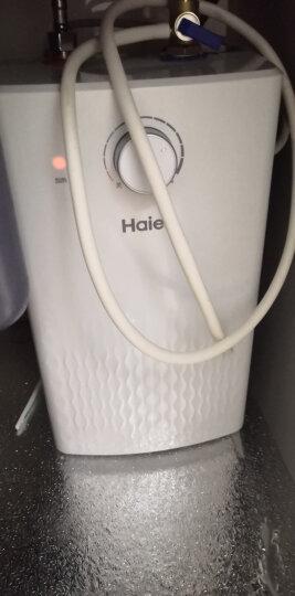 海尔(Haier)5升家用上出水小厨宝1600W厨房速热小型电热水器专利防电墙EC5U 晒单图