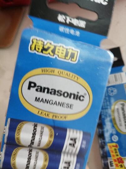 松下(Panasonic)碳性1号大号D型干电池4节R20适用于热水器煤气燃气灶手电筒R20NU/4SC 晒单图
