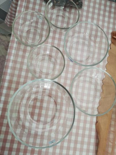 鸥欣(Ocean)原装进口玻璃碗微波炉碗沙拉碗饭碗泡面碗汤碗料理碗家用套装 实用六件套 晒单图