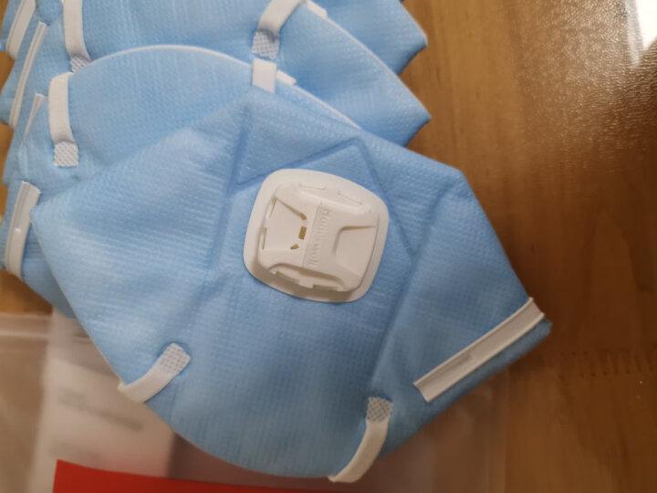 霍尼韦尔(Honeywell)口罩 KN95 防工业粉尘D7002V 6只/包 防雾霾口罩H930V系列 耳带式 男女骑行 晒单图