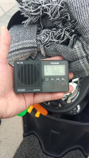 德生(Tecsun)PL-118收音机 老年人 校园广播 袖珍 便携式 调频FM 老人立体声半导体  开关机闹钟(橙色) 晒单图