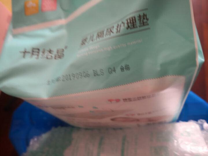 十月结晶婴儿一次性隔尿垫宝宝尿垫巾新生儿护理垫防水床单不可洗 20片新生儿33*45cm 晒单图