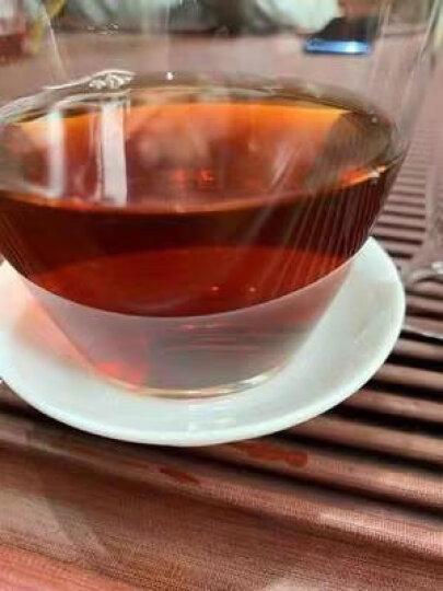茶叶云南普洱茶熟茶500g圆筒礼盒装 易记茶业陈年宫廷小玉饼 古树纯料金芽老料 晒单图