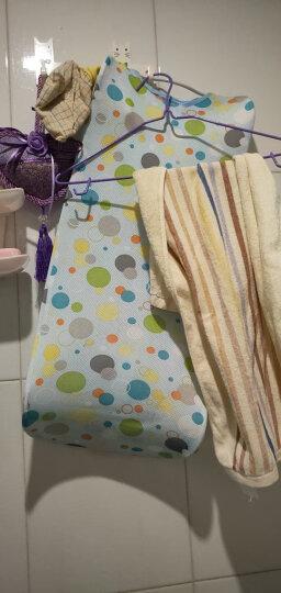 好孩子(gb) gb好孩子婴儿浴盆宝宝洗澡盆坐卧两用大号浴盆 蓝色浴盆+浴架+十字浴网+洗浴大礼包 晒单图