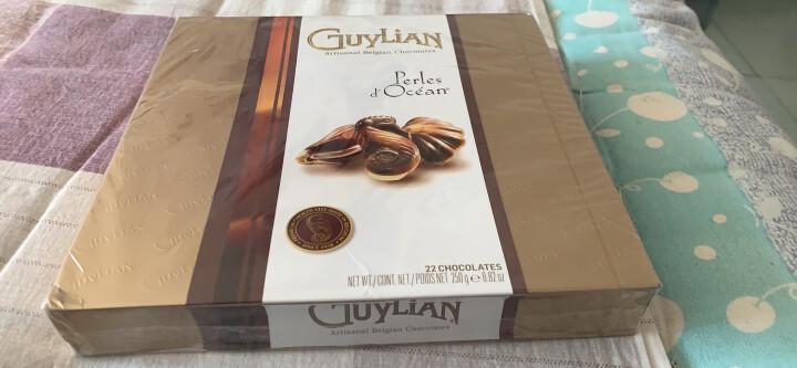 比利时进口 吉利莲(Guylian) 金贝壳巧克力 520情人节礼物送女友生日 22粒礼盒装  250g× 1 晒单图