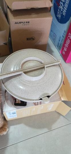 爱思得(Arsto)稻壳泡面碗带盖大号多功能餐具套装带筷勺微波炉可用5197绿色 晒单图