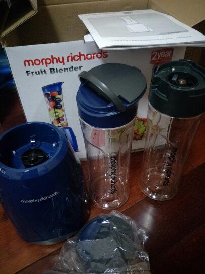 摩飞(Morphyrichards)榨汁机原汁机 便携式果汁搅拌奶昔婴儿辅食机双杯MR9200 晒单图