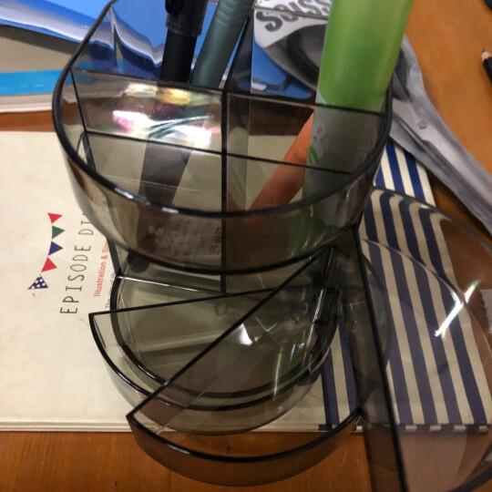 晨光(M&G)ABT98429优品时尚方形笔筒收纳盒绿色 晒单图