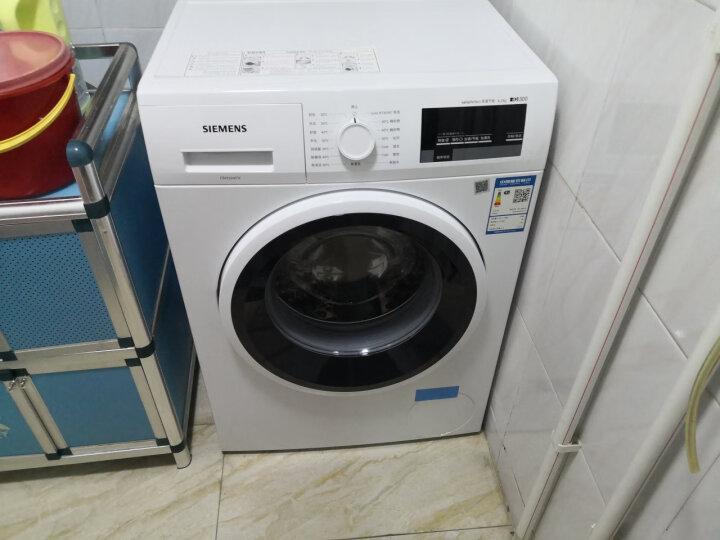 西门子(SIEMENS) 6.2公斤 变频滚筒洗衣机 低噪音 LED显示 触摸控制(白色)XQG62-WS10K1601W 晒单图
