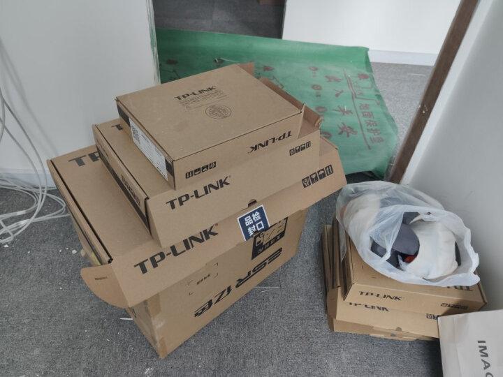 TP-LINK 5口千兆PoE交换机 4口PoE非网管交换机 监控网络网线分线器 企业级交换器 分流器 TL-SG1005P 晒单图