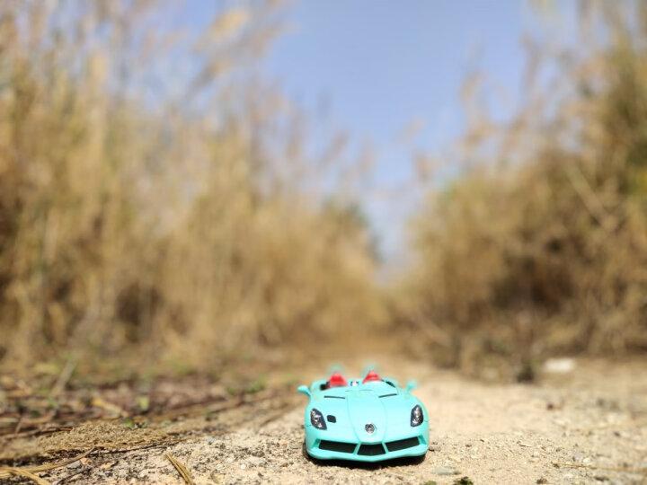 星辉(Rastar) 遥控车 1:14布加迪内置USB充电版可漂移跑车男孩儿童玩具车模型新年礼物 70440黑蓝 晒单图