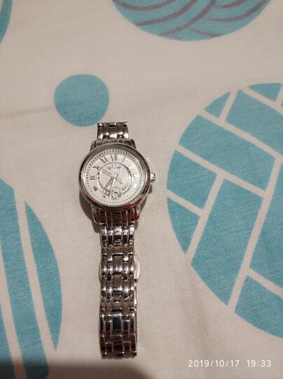 励柏艾顿(LA)手表 女防水时尚镶钻女士手表钢带优雅石英瑰丽系列Moon ring星月钻戒系列 LA1048-2441L 晒单图