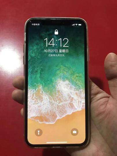 亿色(ESR) 苹果x/xs手机壳iPhonex/xs保护套 透明全包防摔硅胶软壳超薄男女款 抖音同款 零感-白 晒单图