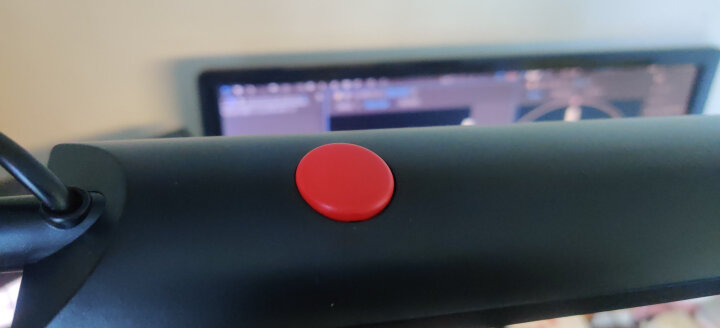 好视力 长臂工作护眼 美式折叠LED夹灯TG988-BK 晒单图