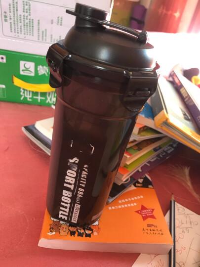 乐扣乐扣(lock&lock)便携夏季运动水杯 比得兔系列户外旅行防漏学生随手塑料水杯子 690ml HPL934M-PR 晒单图