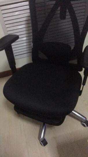 西昊(SIHOO) 人体工学电脑椅子 家用老板椅电竞椅 靠背转椅座椅 护腰办公椅可躺 M18脚踏可躺 晒单图