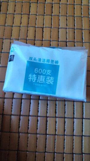 健舒佳(kensuka)双头棉签 母婴耳鼻清洁化妆棉签棒木棒袋装 100支/包 晒单图