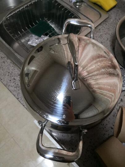 特百惠(Tupperware) 特百惠美满人生锅具套装5.7升多用锅加三层炒锅至尊不锈钢锅 20年新款美满人生镌雅锅具套装 晒单图