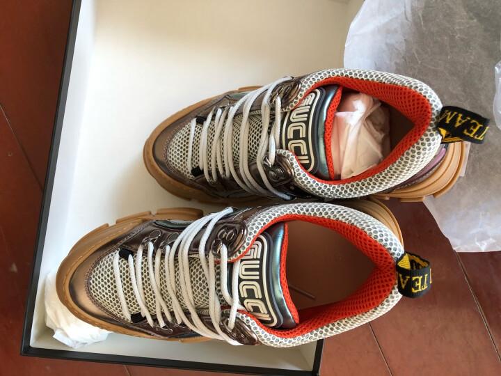 古驰 GUCCI 米白色牛皮双G镶珠女士中跟鞋 423559 DKHC0 9061 39 晒单图