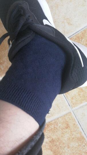 宜帛棉品 袜子男士竹纤维袜子中筒男袜吸汗秋冬季款商务不臭脚男袜礼盒装5双 五双藏青色 晒单图