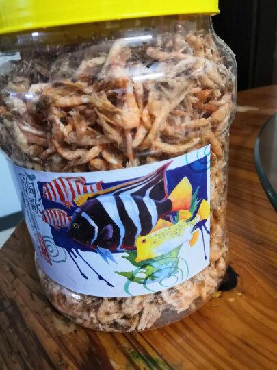 淘歌 TG 鱼食 热带小型观赏鱼饲料 鱼粮 丰年虾 丰年虫800ML 晒单图