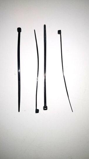 胜为(shengwei)NL-1050A 自锁式尼龙扎带 2.5*100黑色环保500条 固定塑料扣束/捆/扎带线 晒单图