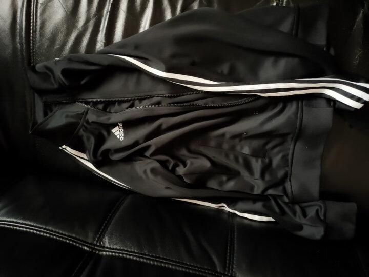 阿迪达斯adidas男装2020春季上衣运动外套休闲服舒适防风夹克 TR30J5-CBUW 蓝色连帽夹克 2XL 晒单图
