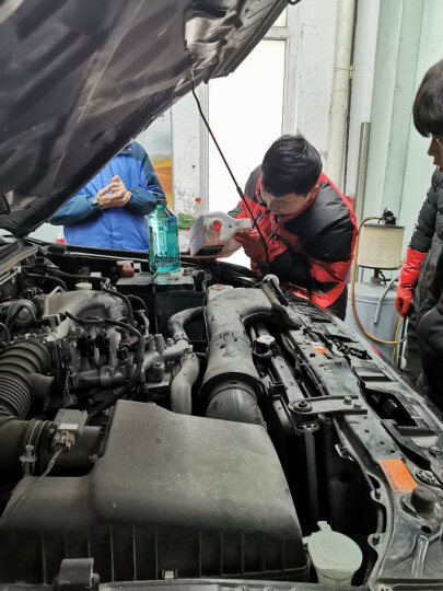 博世(BOSCH)汽车发动机通用水箱防冻液/冷却液/冷却水 冰点-25℃ 4L(绿色) 晒单图