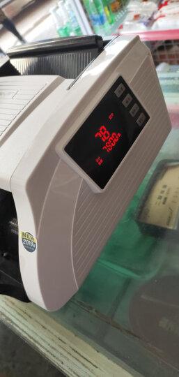 得力(deli)2019年新版人民币双屏银行专用语音点钞机验钞机 商用家用国标C级验钞机数钞机数钱机33092S 晒单图
