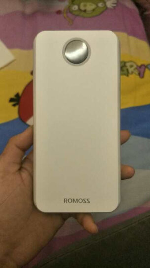 罗马仕(ROMOSS)HO20手机充电宝20000毫安时大容量聚合物移动电源LED数显 双输入适用于苹果华为小米白色 晒单图