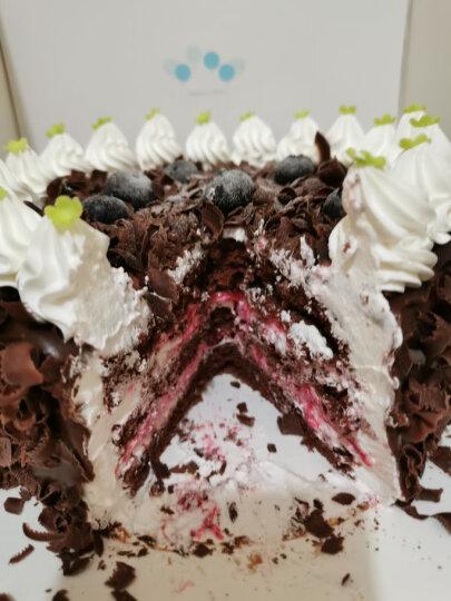 好利来生日蛋糕预订-黑森林-蛋糕预订黑樱桃草莓限天津、成都、西安订购同城配送 直径15cm提前24小时预订 晒单图