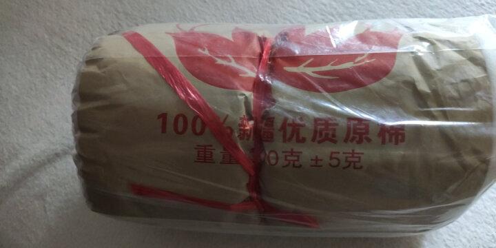 纯棉新疆棉花 散装棉花精梳絮棉天然长绒棉棉被棉花儿童婴儿褥子棉衣床褥垫被手工棉被 1斤/卷 晒单图