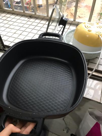 苏泊尔(SUPOR)电火锅家用 多功能电热锅4L不粘电煮锅分体式可拆洗HFK26S-130 晒单图