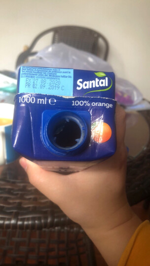 帕玛拉特圣涛 100%橙汁 1L*3盒 果蔬汁 饮品 意大利进口饮料 果汁饮品 春游必备 晒单图