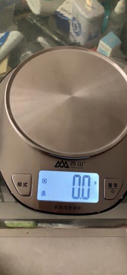 香山厨房秤高精度可悬挂烘焙称食物秤EK816(蜜桃粉) 晒单图
