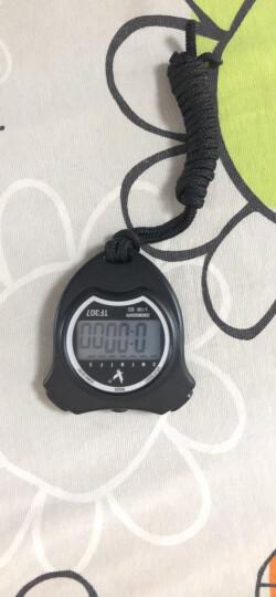 天福专业多功能秒表计时器闹钟田径比赛 户外运动跑步训练游泳电子记忆计时秒表双排30道PC2230 晒单图
