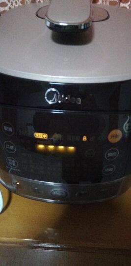 美的(Midea)电压力锅5升高压锅 IH电磁加热电高压锅 浓香电压力煲WQH50C8(大火力)(李现推荐) 晒单图