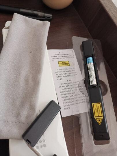 诺为 畅享600米空间/360°遥控/100米距离远控 激光笔 PPT翻页笔 无线演示器 投影笔 电子笔 N26 红光 黑色 晒单图