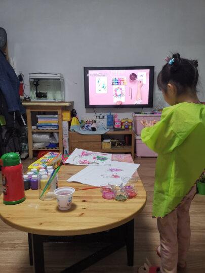 特宝儿(topbright)二合一桌式儿童画板多功能黑板 双面写字板黑板白板男孩女孩儿童玩具学习桌新年礼物 晒单图