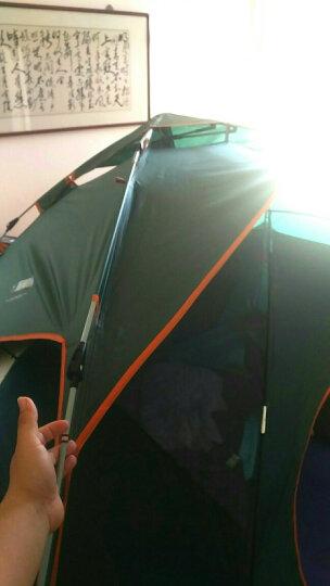探险者(TAN XIAN ZHE) 全自动户外帐篷防雨户外双人双层免搭建露营野营3-4人多人露营帐篷 芭蕉叶套餐一 晒单图