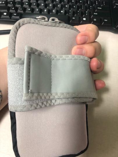 WELLHOUSE 臂包 跑步运动臂包手机包夜光手腕包可背挎腕包   湖蓝色 晒单图