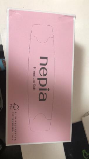 妮飘(nepia)抽纸进口系列180抽盒抽*5盒纸巾 premium soft 精选柔滑面巾纸(日本原装进口) 晒单图