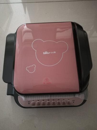 小熊(Bear)电饼铛家用双面加热早餐机煎饼铛烙饼锅加深加大烧烤电煎饼锅不粘锅DBC-B13A1 晒单图
