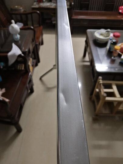 芙运凯晾衣架落地折叠X型晾衣架阳台挂衣架 经典镀锌三杆1.6米 晒单图