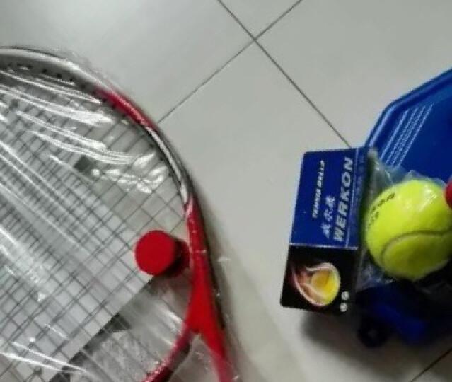 HEAD海德网球拍 Spark MX Tour碳素拍 男女通用 蓝色 穿好线 送训练球、吸汗带、避震器、拍包 晒单图