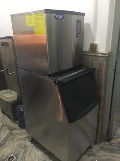 戈绅(goshen)制冰机商用奶茶店 方冰 家用制冰机迷你 全自动大型小型 大容量 专业级商用冰块机 JD-SKB150-55冰格(100KG产量) 晒单图
