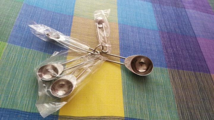 德国法克曼Fackelmann烘培工具不锈钢带刻度量勺 刻度勺 小勺 计量调味工具5只装 晒单图